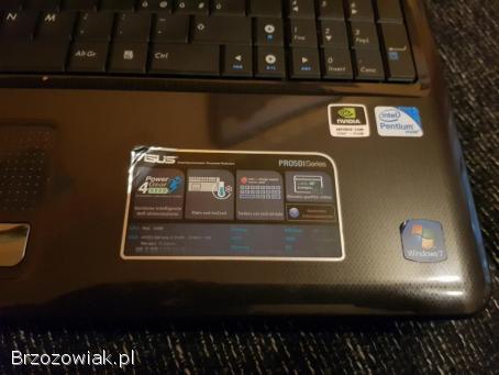 Asus PRO5DI 4/500gb Gw.  Serw nowa bateria